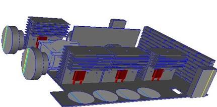 Electornics system model